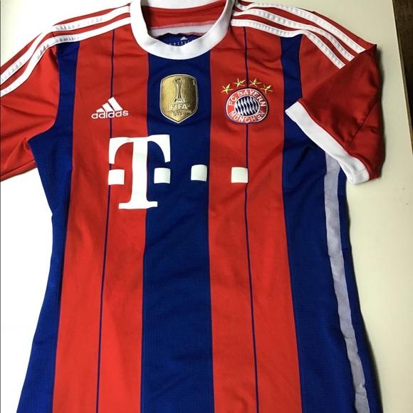 sports shoes a655a 729ee Adidas Bayern Munchen Soccer Jersey